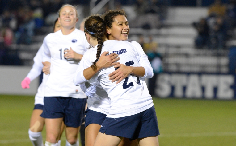Women's Soccer 15th Straight Big Ten Win